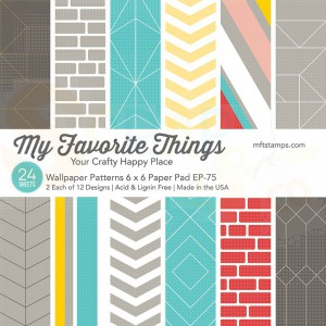 EP-75, My Favorite Things Paper pack 6x6 inch, Wallpaper patterns