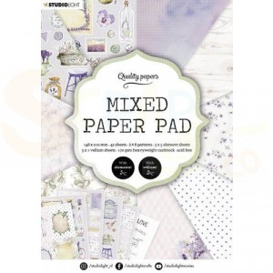 StudioLight, Mixed Paper Pad A5 SL-ES-MPP03