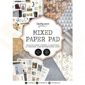 StudioLight, Mixed Paper pad A5, SL-ES-MPP04