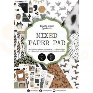 StudioLight, Mixed Paper pad A5, SL-ES-MPP05