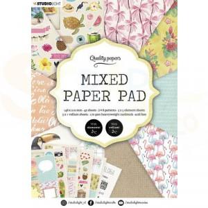 StudioLight, Mixed Paper pad A5, SL-ES-MPP06