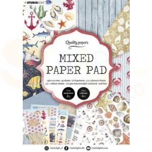 StudioLight, Mixed Paper pad A5, SL-ES-MPP07
