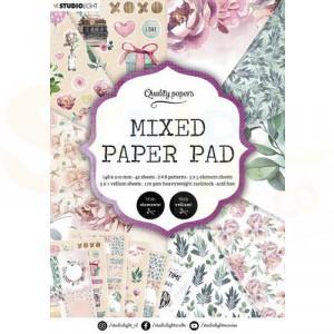 StudioLight, Mixed Paper pad A5, SL-ES-MPP08