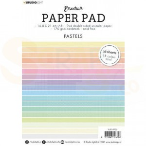 StudioLight, paperpad A5 Essentials Pastels nr.5 SL-ES-PP05