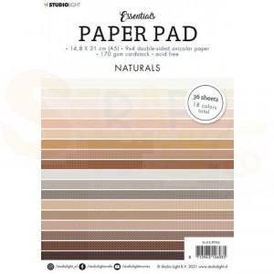 StudioLight, paperpad A5 Essentials Naturals nr. 6 SL-ES-PP06