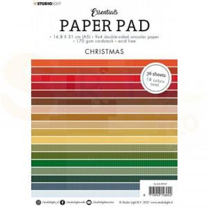 StudioLight, paperpad A5 Essentials Christmas SL-ES-PP07