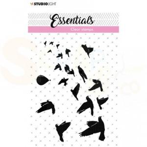 StudioLight, clearstamp Birds/hot air balloon Essentials nr. 27 SL-ES-STAMP27