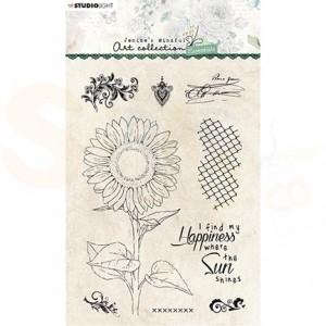 Studiolight, clearstamp Jenine's Essentials Sunflower nr. 66 SL-ES-STAMP66