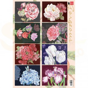 EWK1285, Marianne Design, decoupage vel Gorgeous Paintings