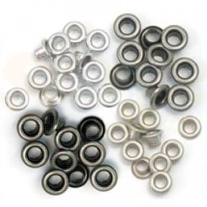 Eyelets standard, cool metal