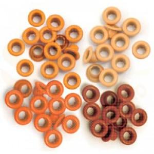 Eyelets standard, orange