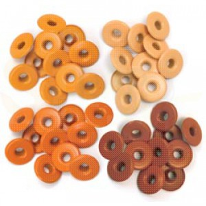 Eyelets wide, orange