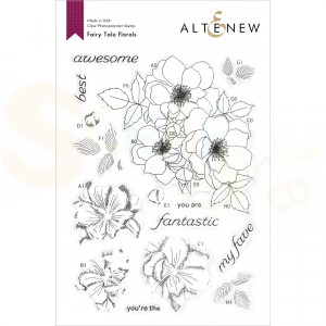 Altenew, clearstamp Fairy Tale Florals ALT4926
