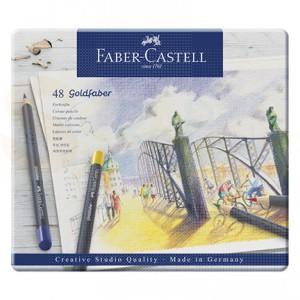 Faber Castell, Goldfaber kleurpotloden, blik 48 pcs