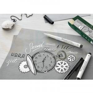 Faber Castell, Pitt Artist Pen zwart en wit set, FC-167151