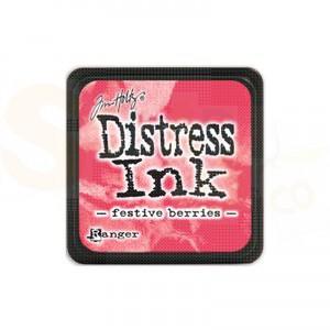 Distress mini ink pad Festive Berries TIM32861
