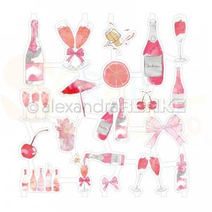 Alexandra Renke, Art-figurine FG-AR-C0003, Pink Cocktails