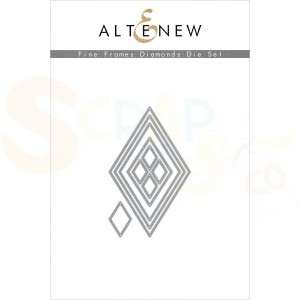 Altenew, die set, Fine Frames Diamonds