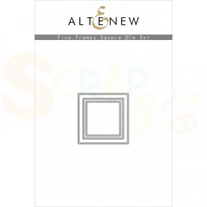 Altenew, die set, Fine Frames Square
