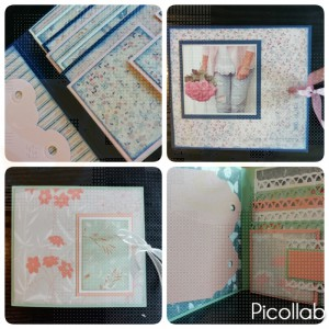 WP mini album Floral Spring (papier Maja Design)
