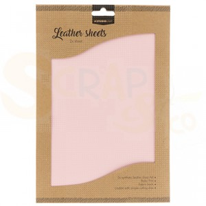 Studio Light, Fake Leather FLSSL05, licht roze