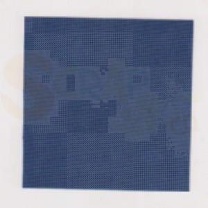 Boekbindlinnen, rol, blauw FR743
