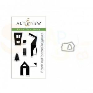 Altenew, stamp & die bundle From our Home ALT2635
