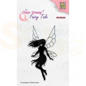 Nellie's Choice, clearstamp Silhouette, Fairy Tale nr.33 FTCS033