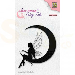 Nellie's Choice, clearstamp Silhouette, Fairy Tale nr.36 FTCS036