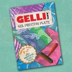 Gelli Arts, Gel Printing Plate 5x7 inch / 12,7 x 17,8 cm