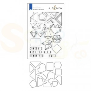 Altenew, stamp & die Geometric Elements ALT4271