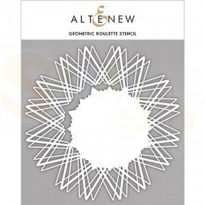 Altenew, Stencil, Geometric Roulette ALT3989