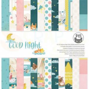 Piatek13, paperpad 12x12 inch, Good Night P13-GNT-08