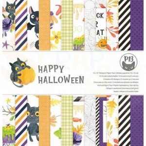 Piatek13, paperpad 12x12 inch, Happy Halloween P13-HAL-08