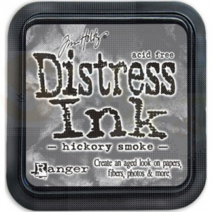 Distress mini ink pad Hickory Smoke