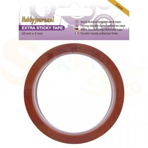 Sticky tape, extra sterk 3 mm
