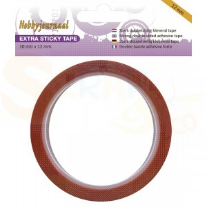 Sticky tape, extra sterk 12 mm