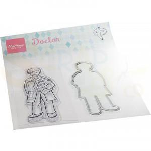 HT1660, stamp & Die Marianne Design, Hetty's Dokter