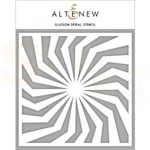 Altenew, Stencil, Illusion Spiral  ALT3312