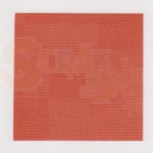 Boekbindlinnen, rol, oranje, IRIS823