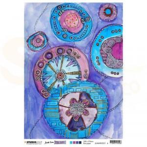 Studiolight, rice paper Mindful Moodling nr. 21 JL-MM-RICE21