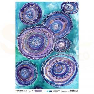 Studiolight, rice paper Mindful Moodling nr. 22 JL-MM-RICE22