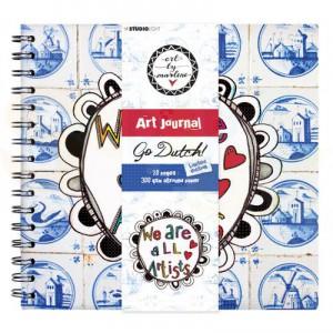 StudioLight, art by Marlene - Spiral Bound Journal Dutch Collection JOURNALBM10