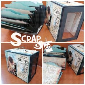 Workshop 22 oktober 2021 Jubileumbox 9 jaar Scrap&Co