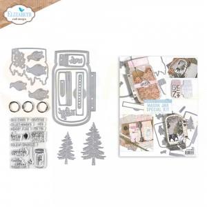 Elizabeth Craft Designs, Mason Jar / Snow Globe Special, K004