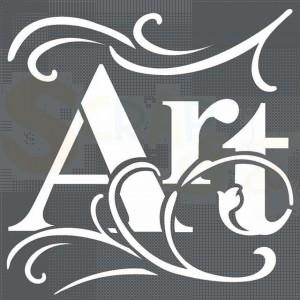 Stamperia stencil 18x18 cm KSTDQ23, Art