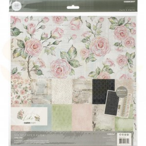 "Kaisercraft, paperpad 12x12"" PK614 Lady Like"