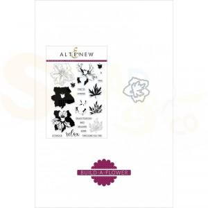 Altenew, build-a-flower Larkspur (stempel + stans) ALT2298