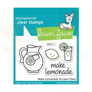 Lawn Fawn, LF 395 Make Lemonade