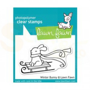Lawn Fawn, LF 327 Winter Bunny